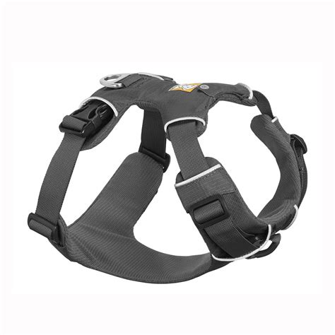front harness front range harness by ruffwear twilight gray with