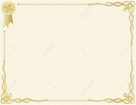 certificate frame powerpoint templates border frames