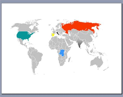 Free Editable Worldmap For Powerpoint Download Powerpoint World Map