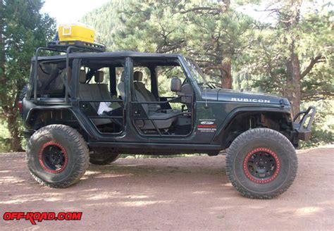 Jeep Top Rack by High Rock Overhead Jeep Jk Bestop Rack Road