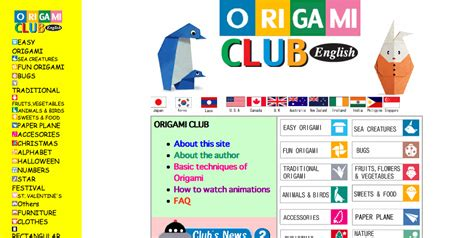 Club Origami - japanese language lessons let s learn japanese 187 origami