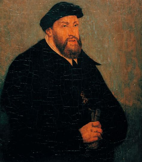 One Reason To Be On Kaiser Karls Side by Emperor Charles V Lucas Cranach The Elder As Print