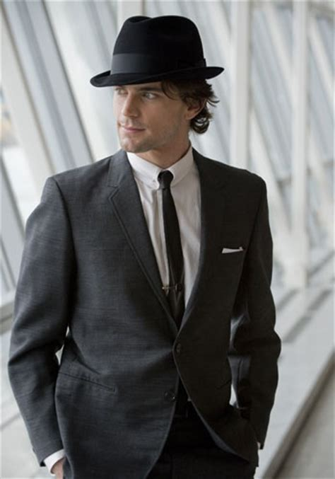 Topi Fedora Hat Painter Black List matt bomer suits and rats on