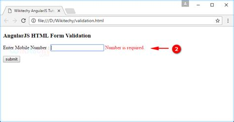 angularjs pattern validation exle angularjs validation wikitechy