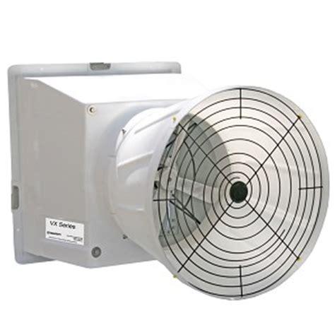 As 24 Fiberglass Fan Agri 24 Quot Vx Fan W Cone Vx24f1ct Agri Sales Inc