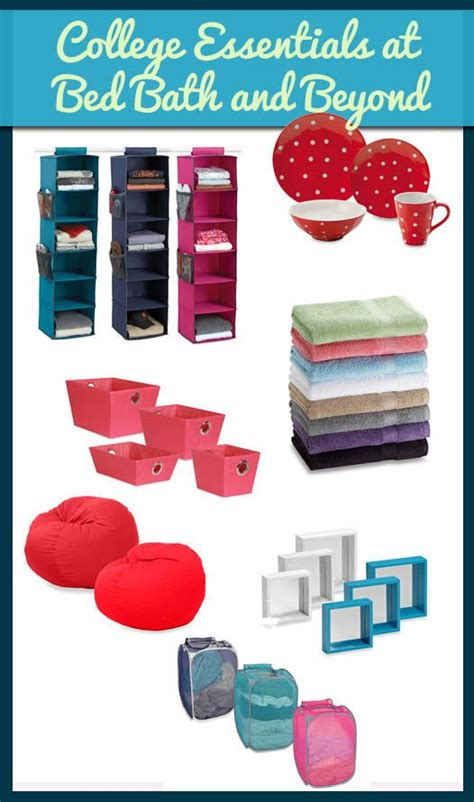 bed bath and beyond college list 12 best images about what to bring to college on pinterest