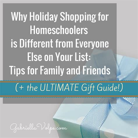 homeschooling the holidays sanity saving strategies and gift giving ideas coffee books volume 15 books why shopping for homeschoolers is different from