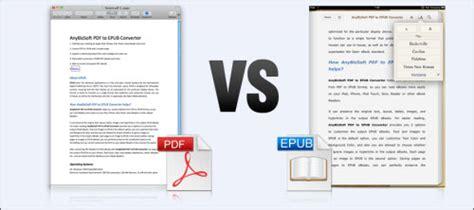 format ebook html adobe pdf vs open source epub comparison