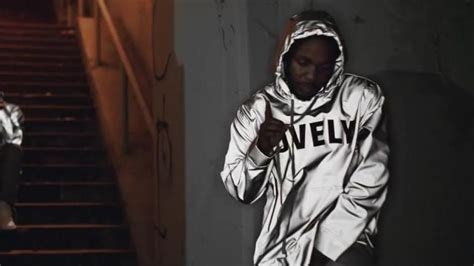 kendrick lamar lovely hoodie lovely jacket worn by kendrick lamar as seen in love video