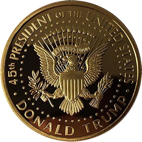 donald trump gold coin donald trump gold coin 2017 gold plated collectable coin