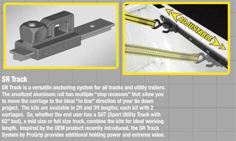 Truck Bed Tie System by Sr Track Truck Bed Tie System