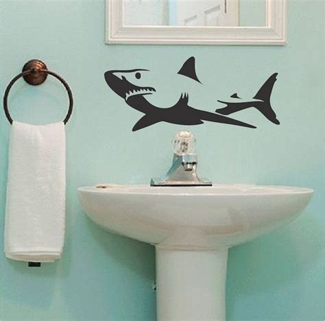 shark wall stickers shark wall decal sticker removable shark decals large