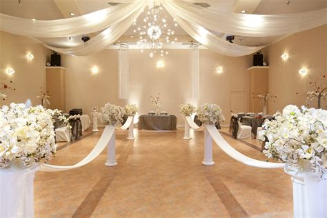 hall decoration ideas wedding hall decor committed anniversary wedding