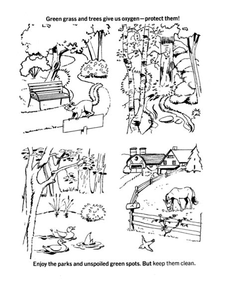 ecology coloring pages coloring home