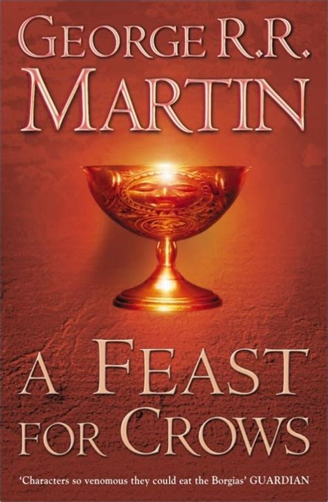 a feast for crows val s random comments a feast for crows george r r martin