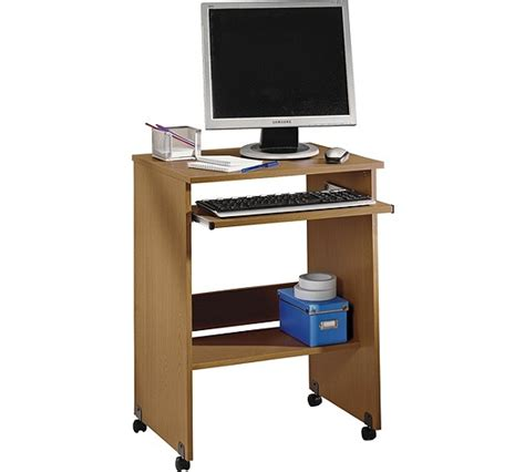 Buy Functional Pc Trolley Oak Effect At Argos Co Uk Computer Desk Argos