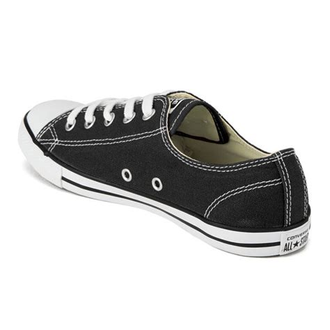 Converse Ox Black Size 37 45 converse s chuck all dainty ox trainers