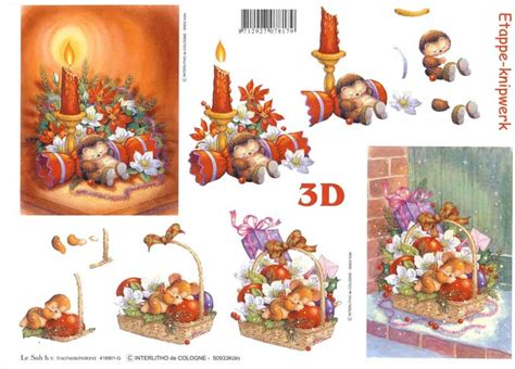 Free 3d Decoupage Sheets To Print - free printable 3d paper crafts hedgehog