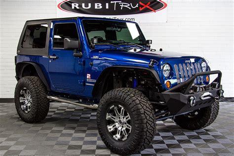 jeep wrangler blue pre owned 2010 jeep wrangler sport blue