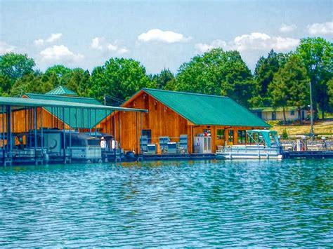 andersonville boat dock waterside marina on norris lake