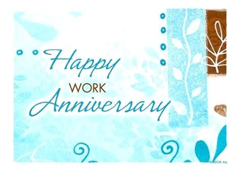 Work Anniversary Template Voipersracing Co Work Anniversary Announcement Template