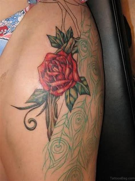 beautiful roses tattoo 70 impressive tattoos for thigh