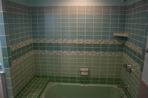 glass tile in bathroom hello retro modwalls live your colors