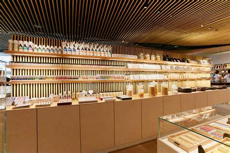 designboom store kengo kuma designs pigment arts store in tokyo