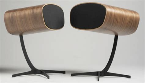 modern speakers mid century modern speaker set craziest gadgets