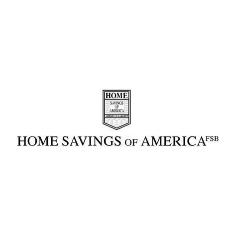 home savings of america free vector 4vector