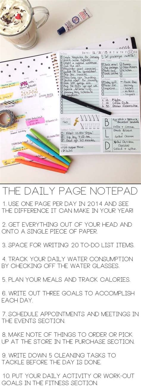 organize day organize your entire day on one sheet of paper with the