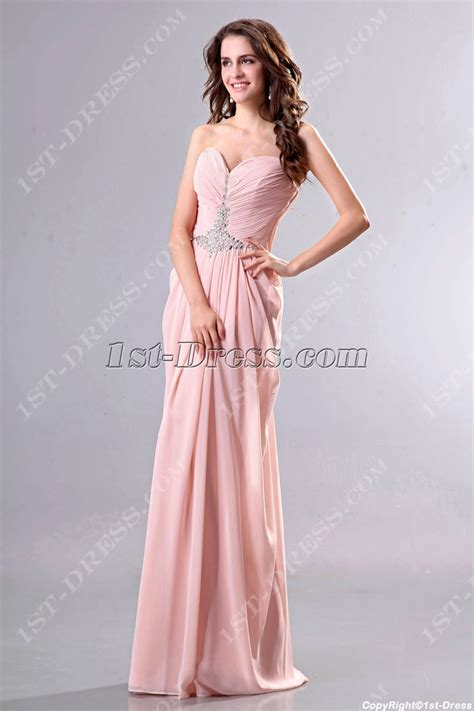 draped evening dress draped coral chiffon column evening dresses 1st dress com