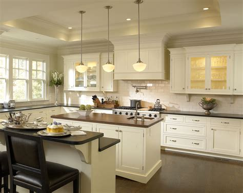 remodeled kitchen cabinets kitchen remodeled home white cabinetry stock photo