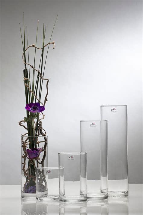 deko ideen glasvasen dekorationen aus holz dekorationen hohe glasvase
