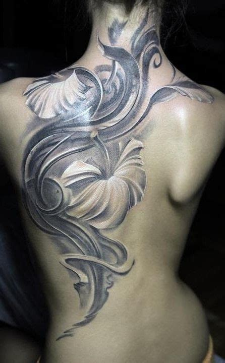 full back tattoos for females back tattoos for quot back flower