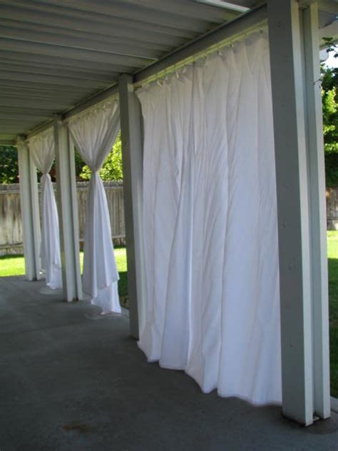 Outdoor Waterproof Curtains Patio Everyday Expressions Patio Rev Stage 2 Outdoor Curtains Tutorial