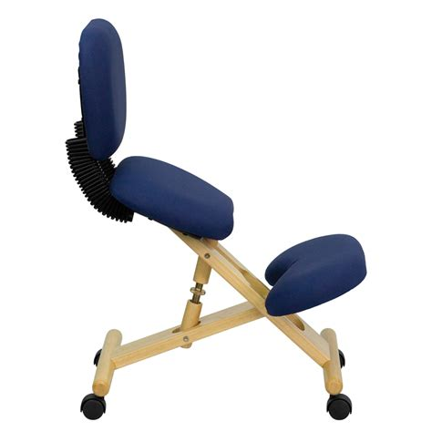 Best Kneeling Posture Chair by Mobile Wooden Ergonomic Kneeling Posture Chair With