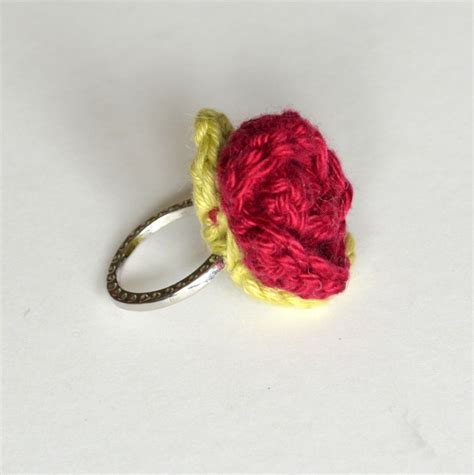 flower pattern ring crocheted flowers that will bring your room to life