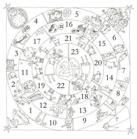 Calendrier De L Avent En Anglais à Colorier Calendrier De L Avent 2014 5 Mod 232 Les Gratuits 224 Imprimer