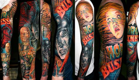 horror movie tattoo horror tattoos inspiring tattoos