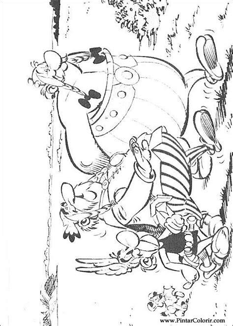 egli figuren größen disegni per dipingere colour asterix stare