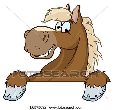 clipart cavallo clipart cavallo mascotte cartone animato testa