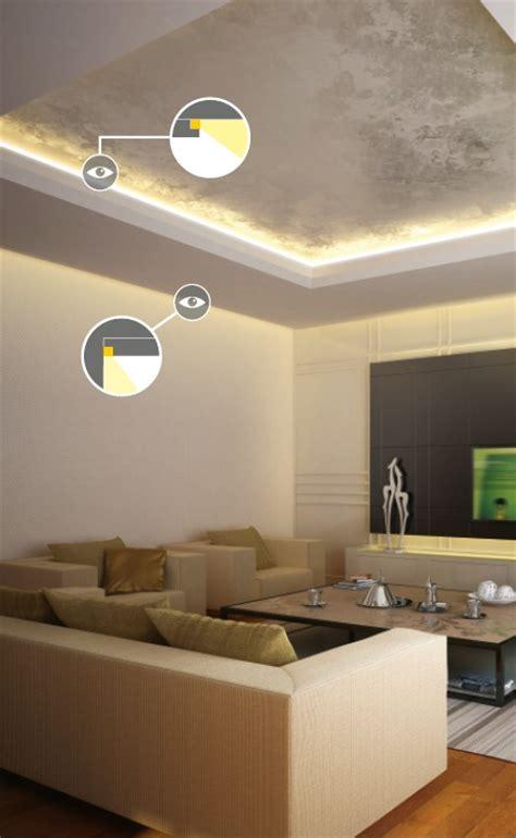 cartongesso illuminazione profilo led per cartongesso frame14 vendita illuminazione