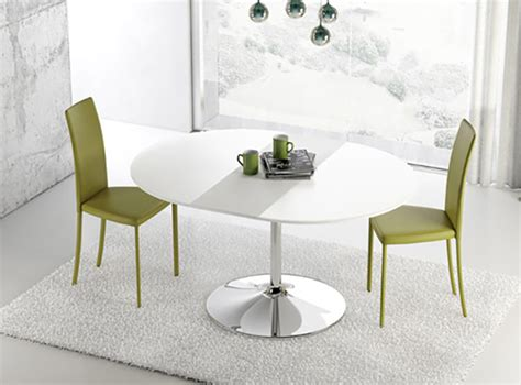 tavoli da cucina rotondi allungabili tavoli rotondi allungabili dal design moderno mondodesign it