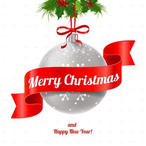 merry christmas  happy  year  artleska graphicriver