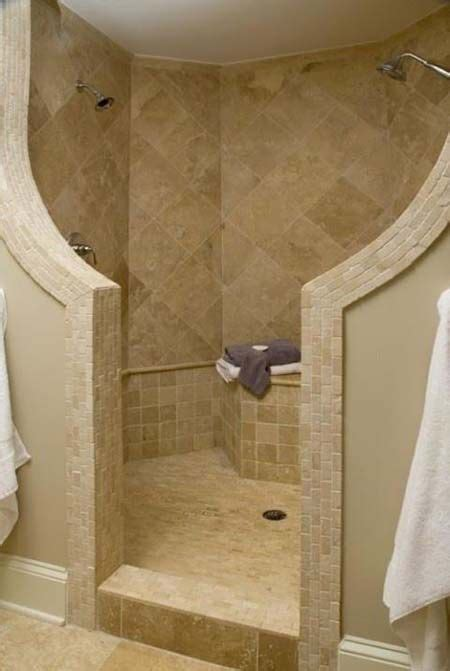 Shower Without Door Or Curtain by Showers Without Doors Or Curtains Modern Walk In Shower