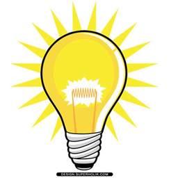 light bulb clipart fashion design templates vector illustrations and clip