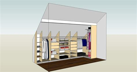 Amenagement Dressing Sous Pente by Dressing Sous Pente
