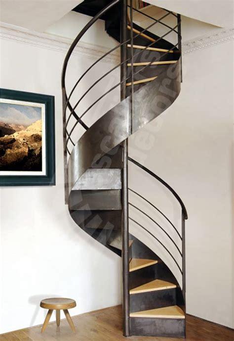 Escalier En Colimacon by Escalier En Colima 231 On Structure En M 233 Tal Marche En