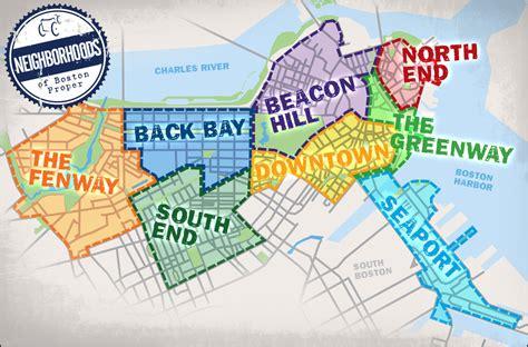 boston map neighborhoods neighborhood tours boston pedicab 617 266 2005